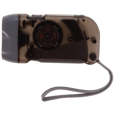 Taschenlampe Pulheim mit Dynamo-schwarz-