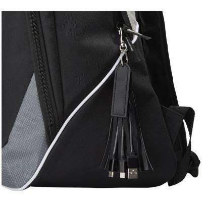 Tassel 3-in-1-Ladekabel-schwarz