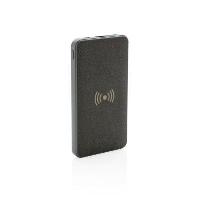 Tela 5W Wireless Powerbank-grau-8000 mAh