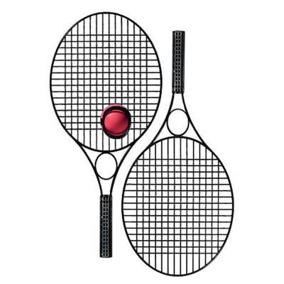 Tennis-Set Pro mit Werbefeld
