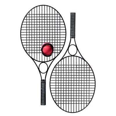 Tennis-Set Pro ohne Werbefeld
