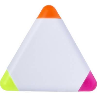 Textmarker Triangle aus Kunststoff