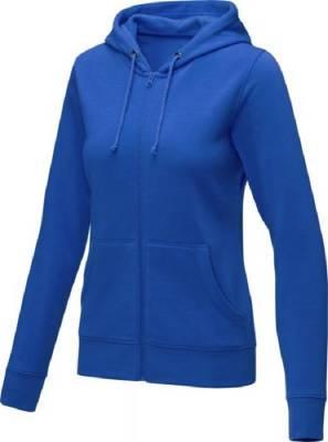 Theron Hoodie mit Reißverschluss für Damen-blau-XL