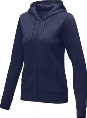 Theron Hoodie mit Reißverschluss für Damen-blau(navyblau)-S