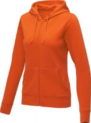 Theron Hoodie mit Reißverschluss für Damen-orange-XXL