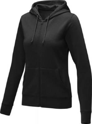 Theron Hoodie mit Reißverschluss für Damen-schwarz-XL