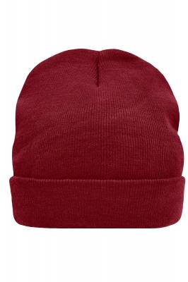 Thinsulate Beanie Chanel-rot(weinrot)-one size-unisex