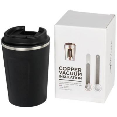 Thor 360 ml auslaufsicherer kuper-vakuum Isolierbecher-schwarz