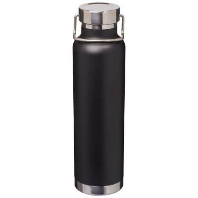 Thor Kupfer Vakuum Isolierflasche-schwarz