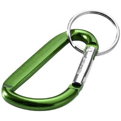 Timor Schlüsselanhänger mit Karabiner-grün