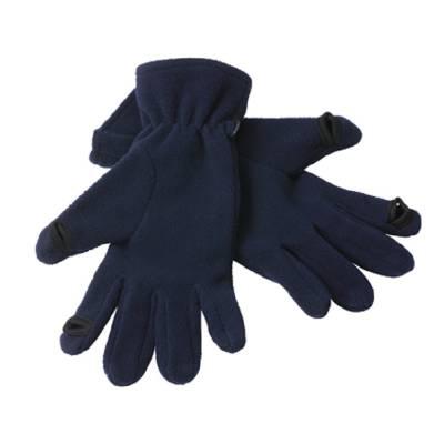 Touch-Screen Fleece Handschuhe Smart-blau-S/M-unisex