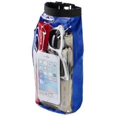 Tourist 2 l wasserdichte Outdoor-Tasche mit Telefonhülle-blau(royalblau)