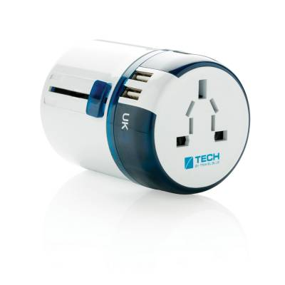 Travel Blue Reiseadapter Erfurt mit USB