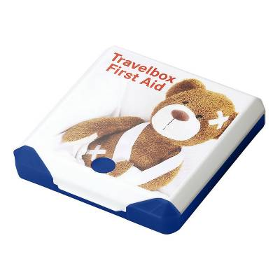 Travelbox First Aid-blau