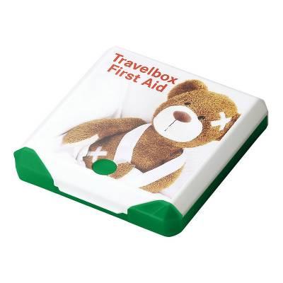Travelbox First Aid-grün