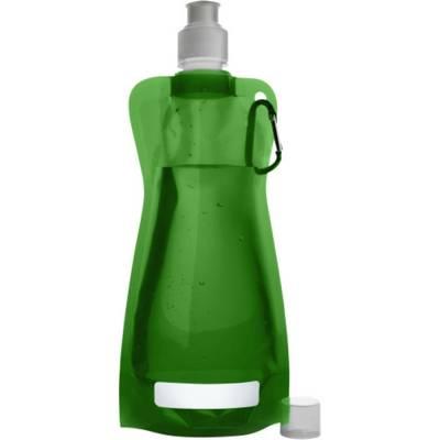 Trinkflasche Basic aus Kunststoff-grün