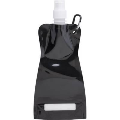Trinkflasche Basic aus Kunststoff-schwarz