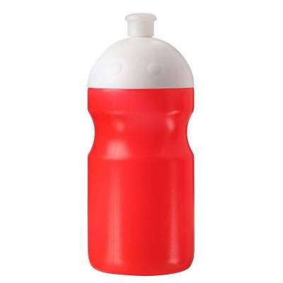 Trinkflasche Fitness 0,5 l mit Saugverschluss-orange(standard)