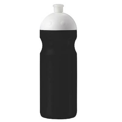 Trinkflasche Fitness 0,7 l mit Saugverschluss-schwarz