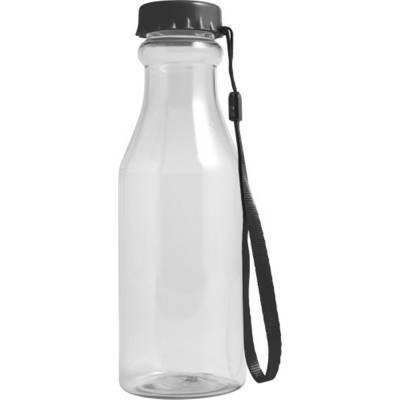 Trinkflasche Mary aus Kunststoff-schwarz