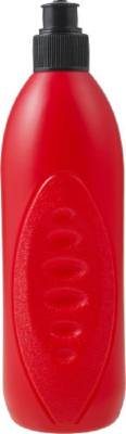 Trinkflasche Match (500 ml) aus PE Kunststoff-rot
