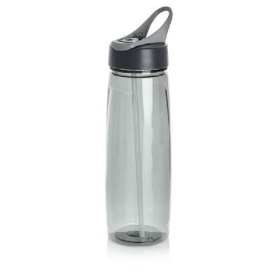 Tritan Sportflasche - grau