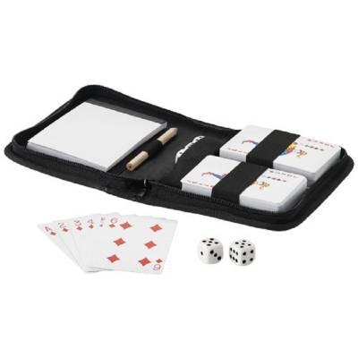 Tronx Spielkarten-schwarz