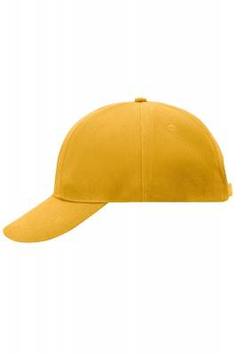 Turned 6 Panel Cap Laminated-MB609-gelb-one size
