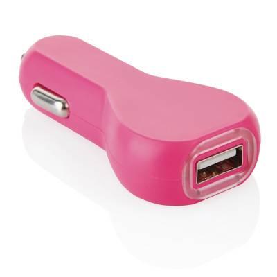 USB Auto Ladegerät Klosterneuburg - rosa