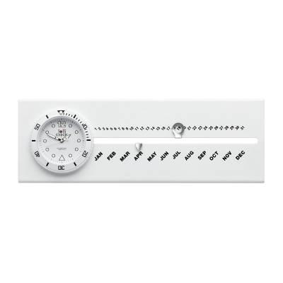 Uhr mit Kalender LOLLICLOCK-CALENDAR