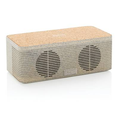 Ulm Wireless Charging Lautsprecher-braun