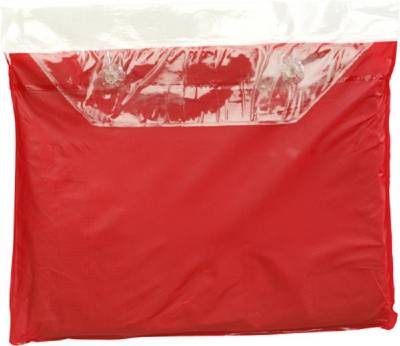 Universal-Freizeitponcho Konya-rot-one size