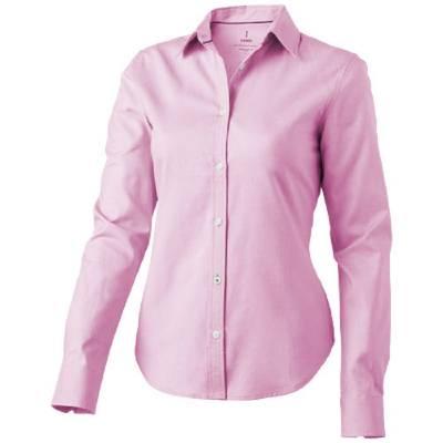 Vaillant Damen Langarm Bluse-rosa-XXL