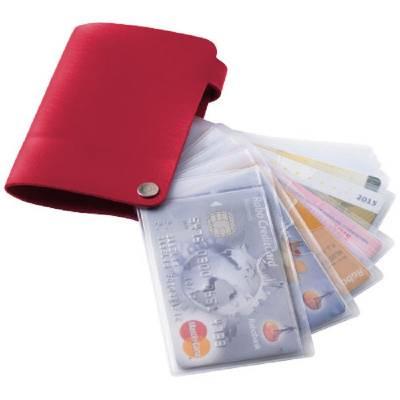Valencia Kartenhalter-rot