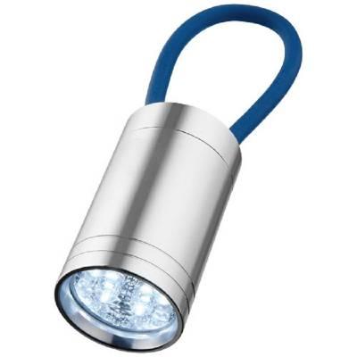 Vela 6-LED-Taschenlampe mit Leuchtband