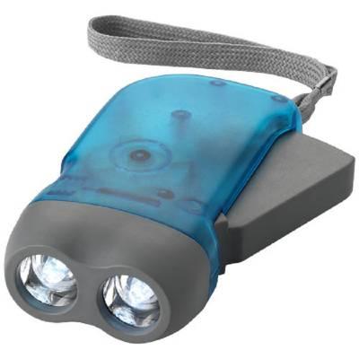 Virgo Dynamo Taschenlampe-blau