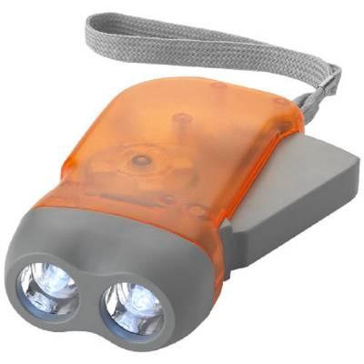 Virgo Dynamo Taschenlampe-orange