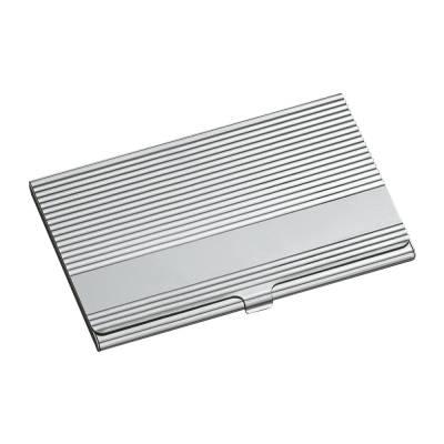 Visitenkartenbox Reflects Quad Silber