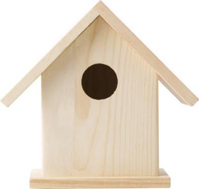 Vogelhaus Colibri mit Malset-braun