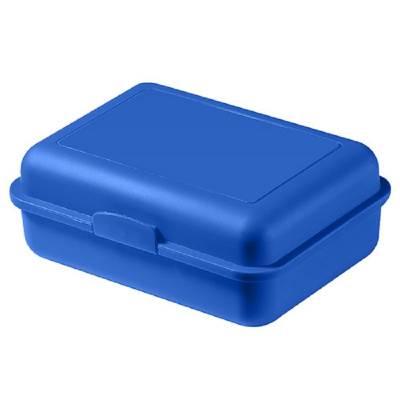 Vorratsdose School-Box groß, mit Trennschale-blau(standard)