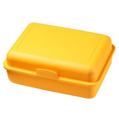 Vorratsdose School-Box groß, mit Trennschale-gelb(standard)