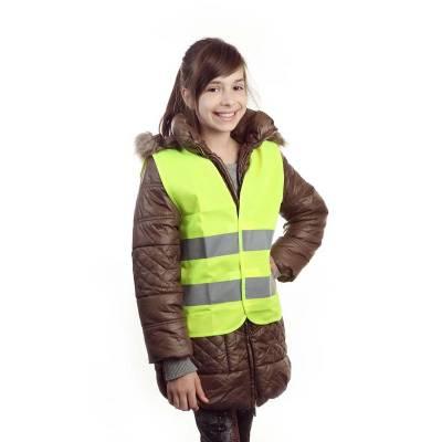 Warnweste Kids-gelb(neongelb)