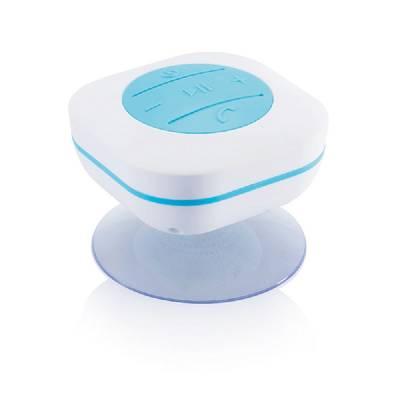 Wasserbeständiger Dusch-Lautsprecher - blau
