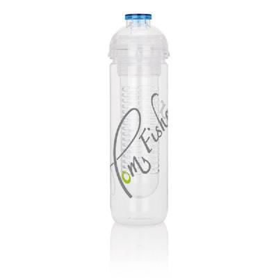 Wasserflasche Stockerau mit Aromafach - blau