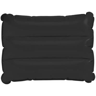 Wave aufblasbares Kissen-schwarz