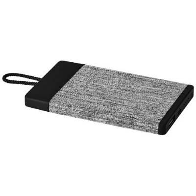 Weave 4000 mAh Stoff-Powerbank-schwarz-4000 mAh