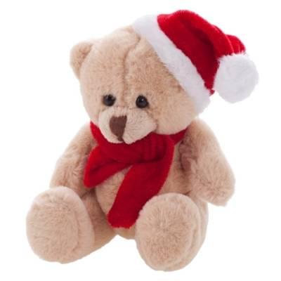 Weihnachts-Teddybär Alfons-braun