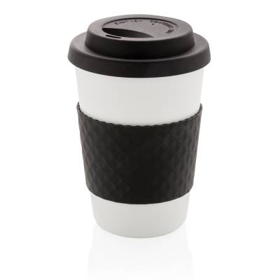 Wiederverwendbarer Kaffeebecher Bottrop 270ml-schwarz