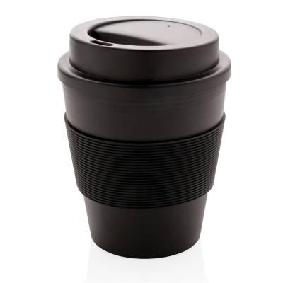 Wiederverwendbarer Kaffeebecher Reutlingen 350ml-schwarz