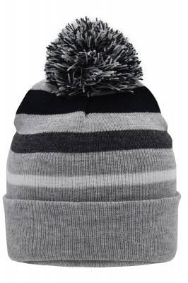 Winter Beanie Cen-grau-one size-unisex